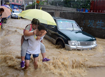 Flood hits SW China's Chongqing