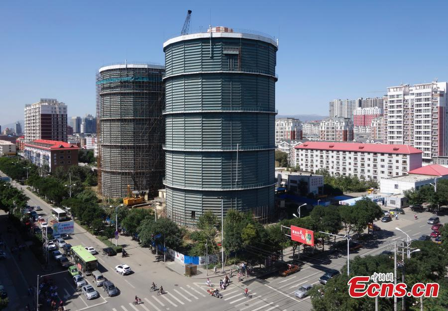 Iconic 'giant green tanks' in Hohhot to be demolished
