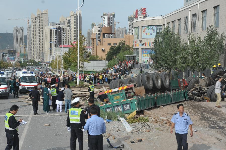 8 dead, 6 injured in N China accident