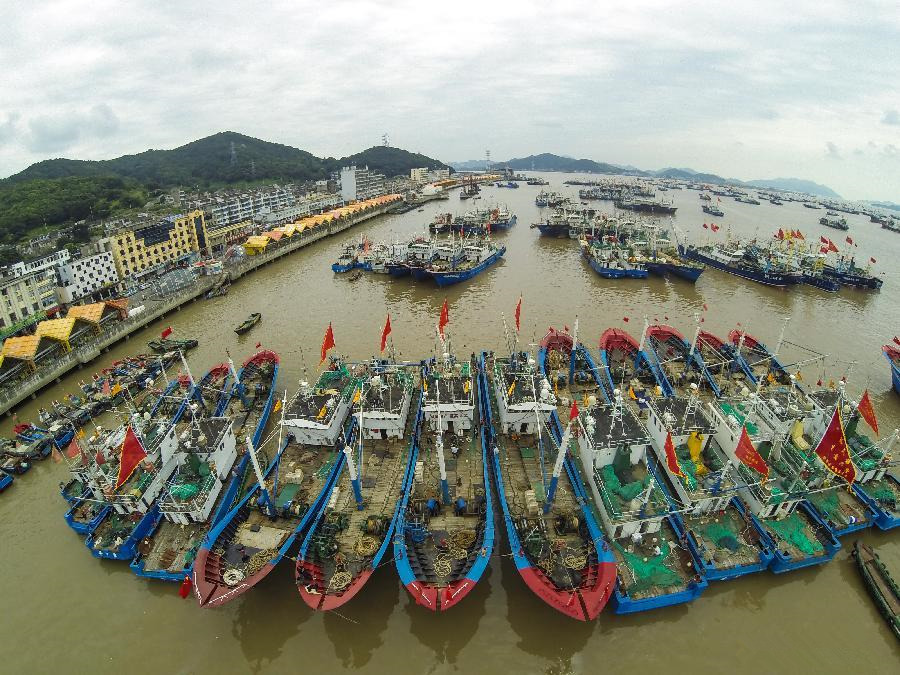 Fishing season starts in E China's Zhejiang