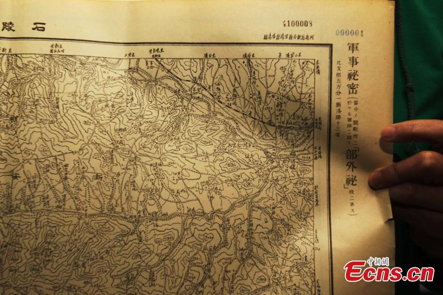 Archival map reveals Japanese invasion attempts