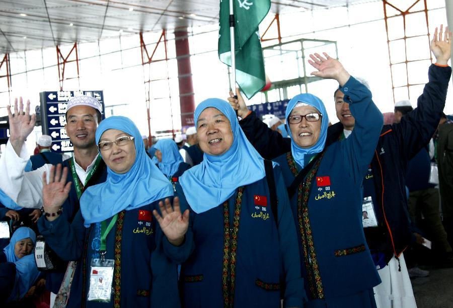 Chinese muslims fly to Mecca for annual pilgrimage