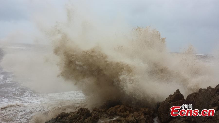Typhoon Fung-Wong lands in east China