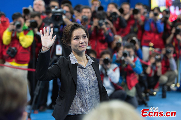 Li Na bids a tearful goodbye in Beijing