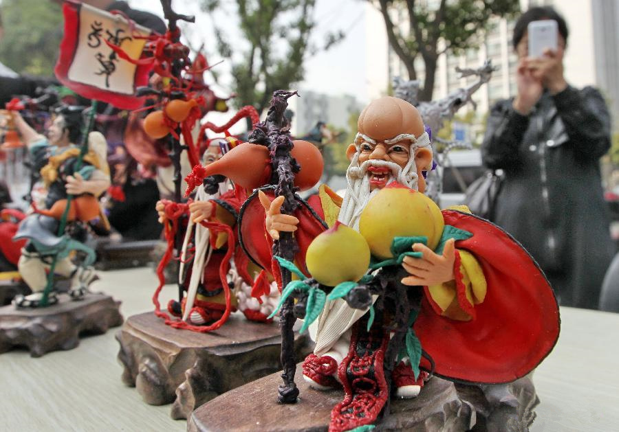 Intangible cultural heritage show opens in Nantong City