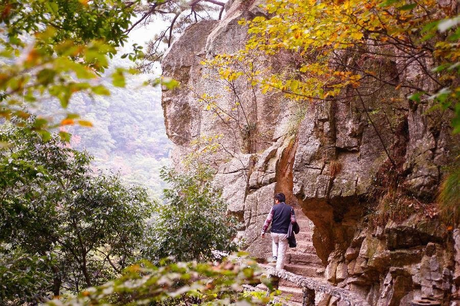 Incredible scenery of Tiantangzhai Scenic Spot