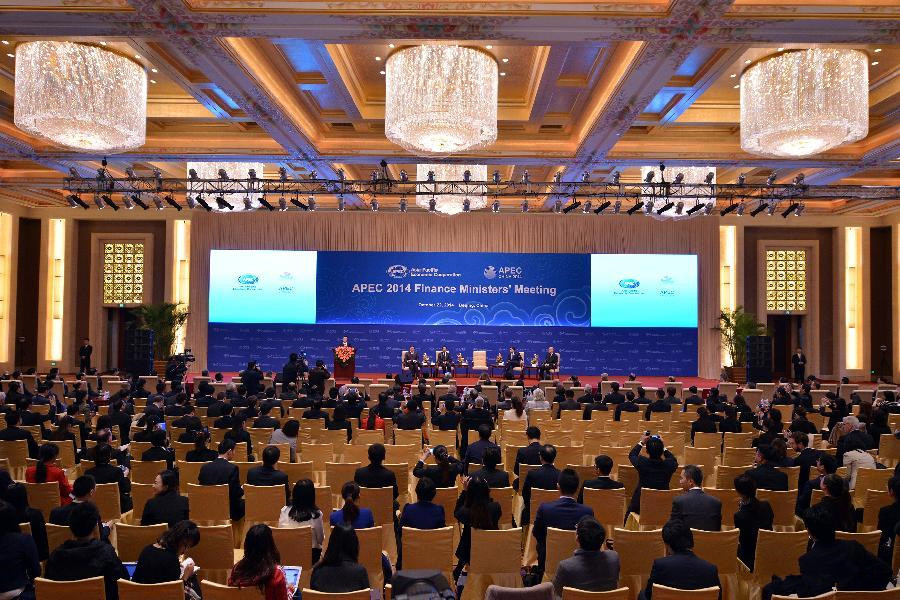 APEC Finance Ministers' Meeting held in Beijing