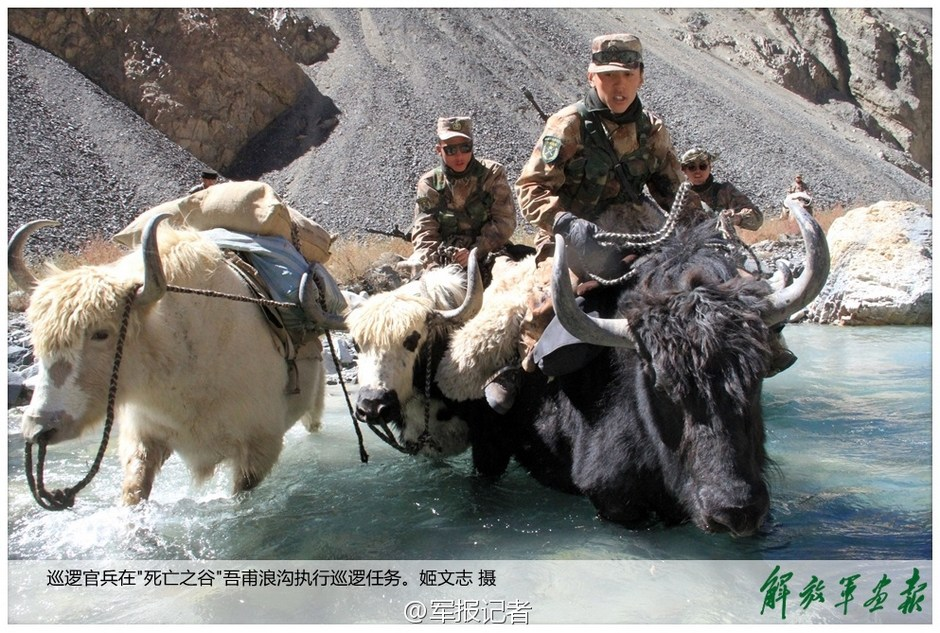 Life of Chinese soldiers on world's highest frontier port
