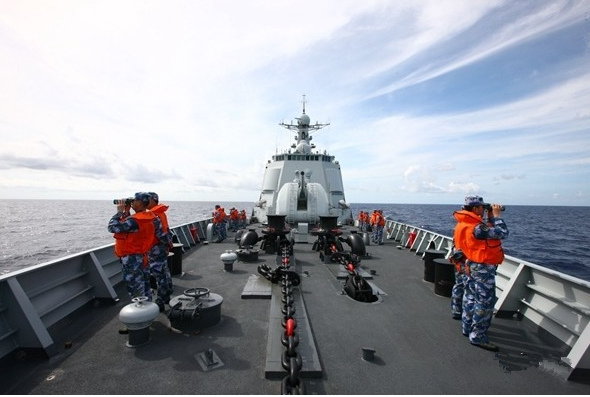 17th Chinese naval escort taskforce returns home
