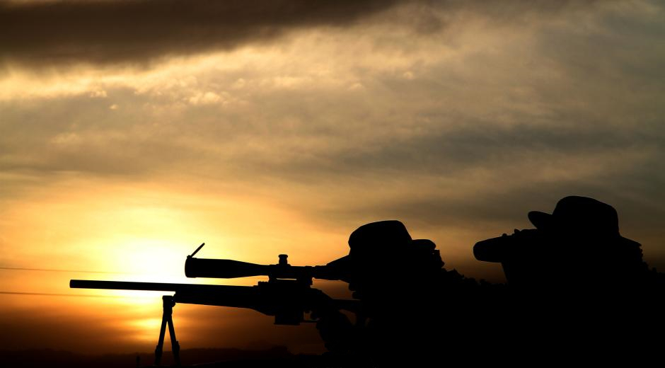 Chinese sniper competes in intl competition