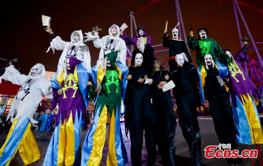 Halloween gains popularity in China