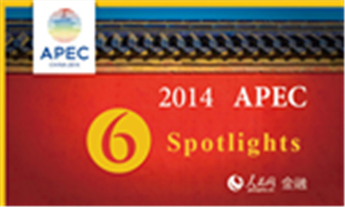 Six spotlights of 2014 APEC