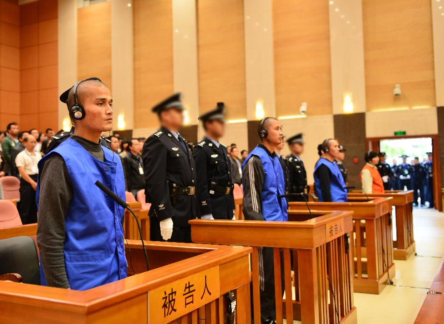 Death sentences upheld in Kunming terrorist attack case