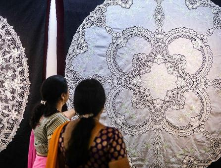 Exhibition of Chinese intangible culture heritage kicks off in India