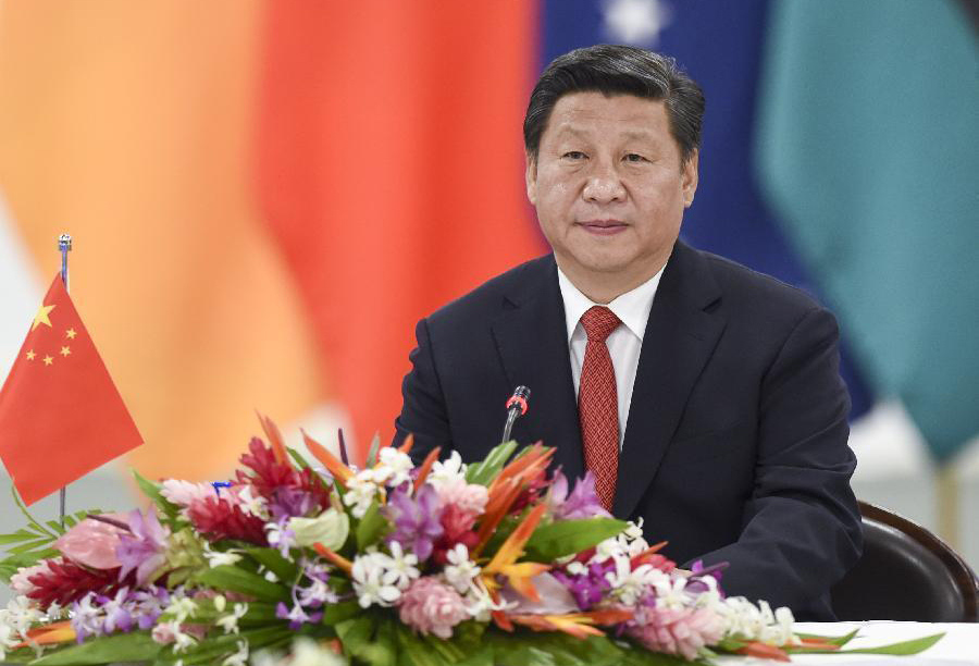 Xi delivers keynote speech in group meeting with leaders of Pacific island countries