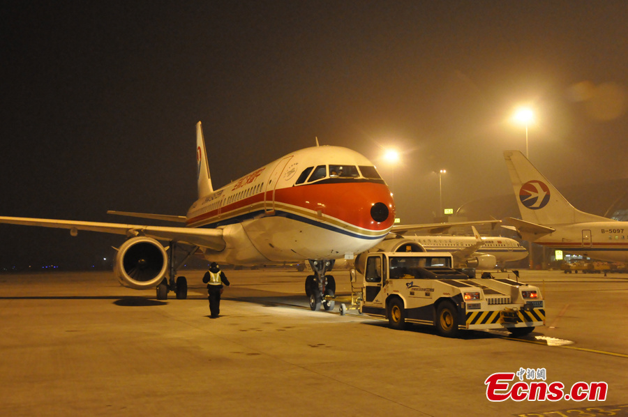 First civil aviation plane dispatched to fly to quake zone