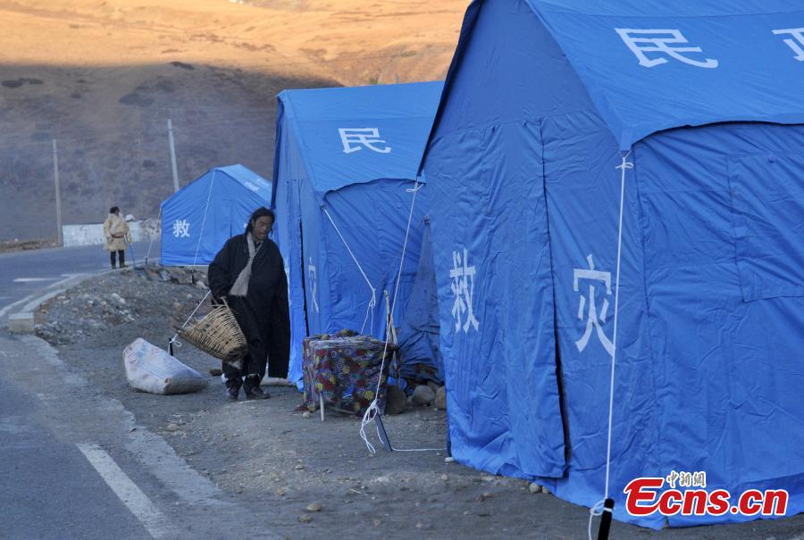 Settlement of quake victims underway in Kangding
