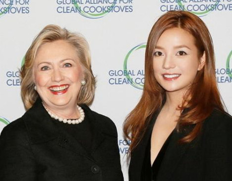 Zhao Wei named ambassador for Global Alliance for Clean Cookstoves