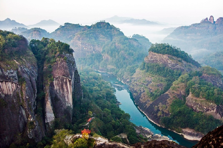 Seven-day classic tour route in Fujian
