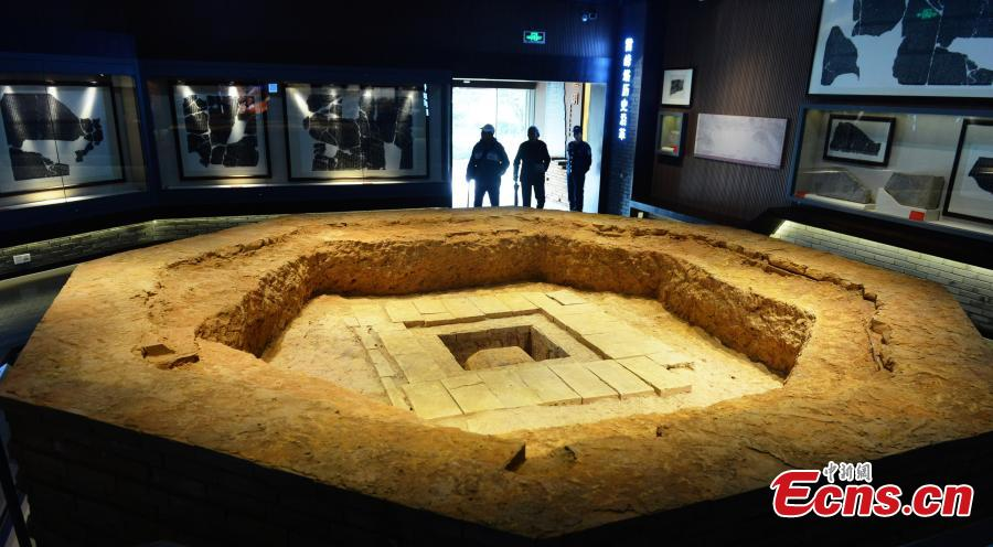 Eight first-class national relics from Leifeng Pagoda on display