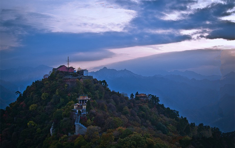 Holy places of Chinese Buddhism: South Wutai Mountain