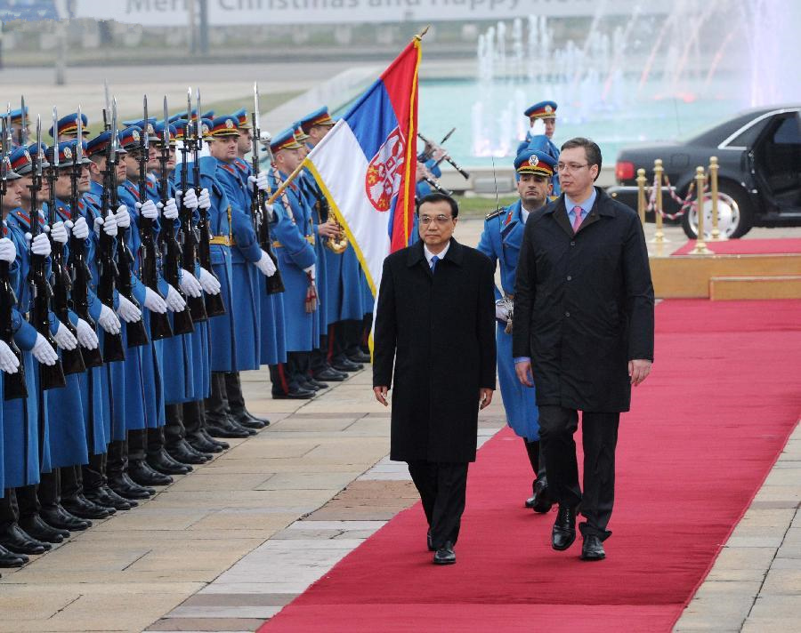 China, Serbia vow to upgrade strategic partnership to new level