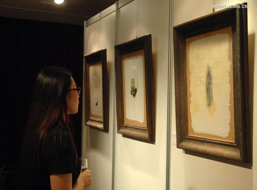 Award of Art China Tour exhibited in Singapore