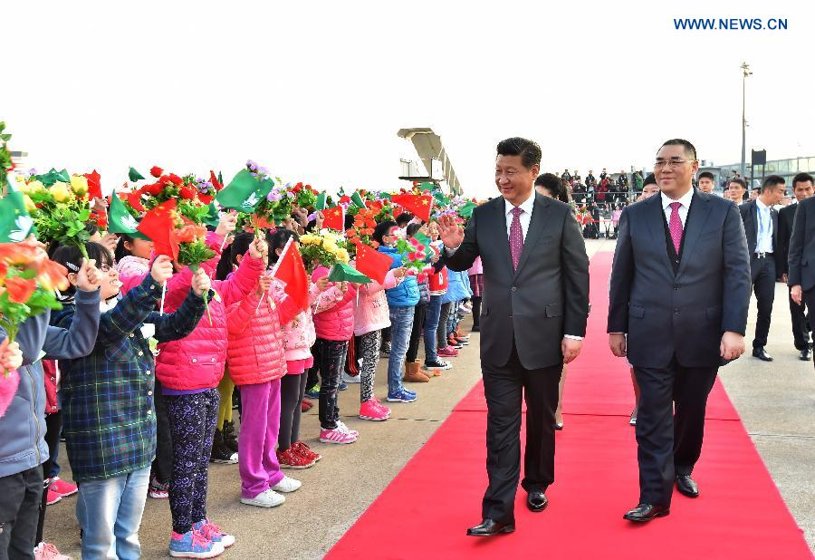 President Xi wraps up two-day Macao trip