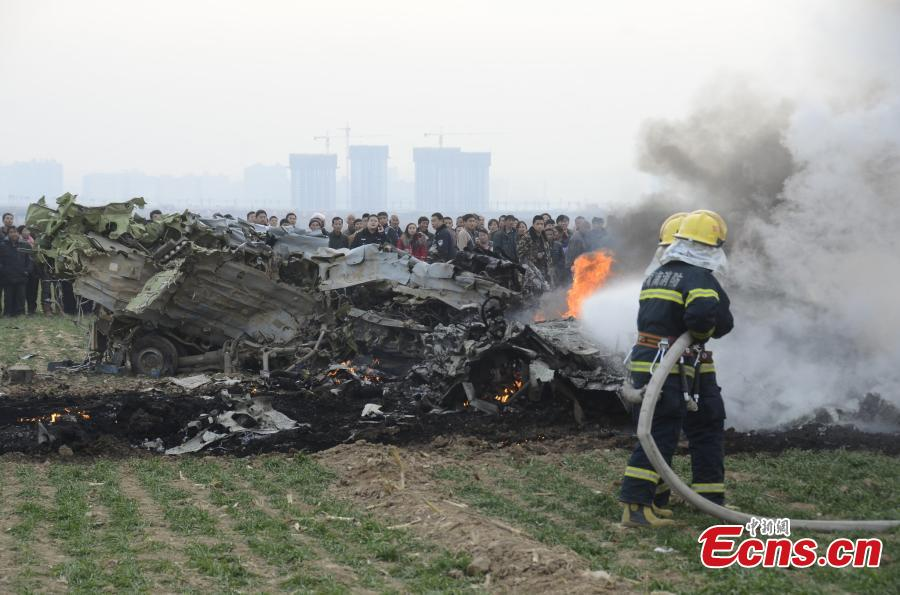 Two killed in NW China air force plane crash