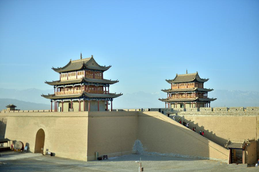 World culture heritage: Jiayu Pass in NW China's Gansu