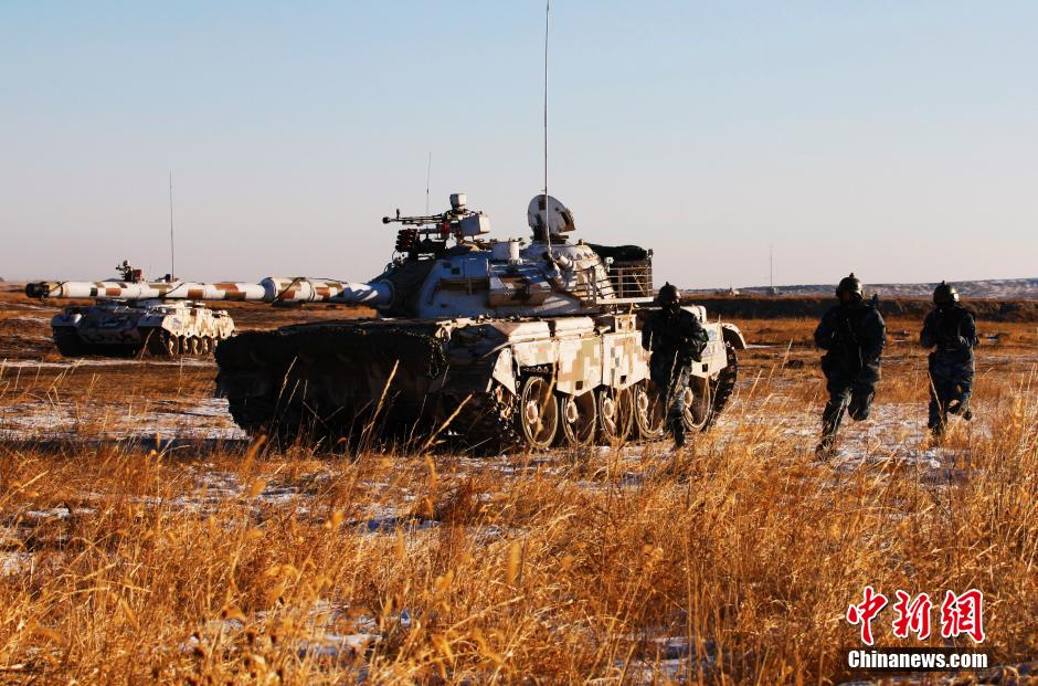 Chinese marines complete actual combat drill in cold region