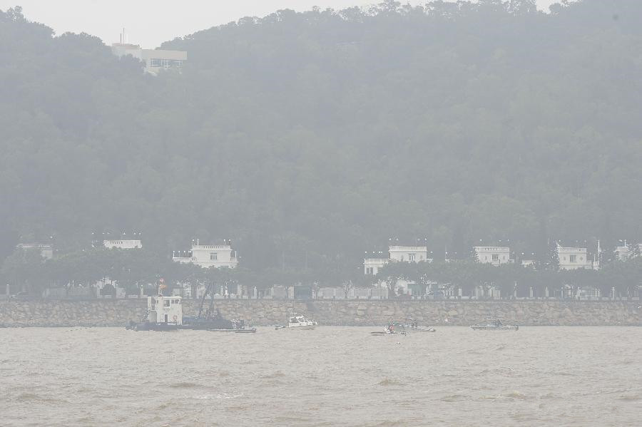 Ferry capsizes off China's Macao, 4 rescued