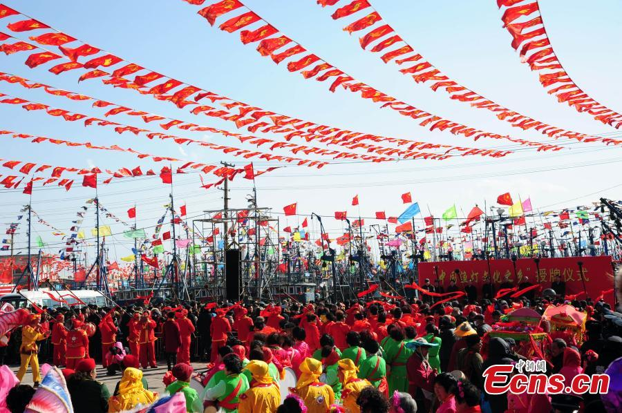Fishing Lamp Day celebrated in E China city