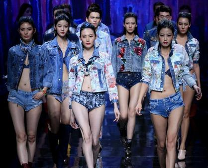 China Fashion Week: D'Nim art jeans creations