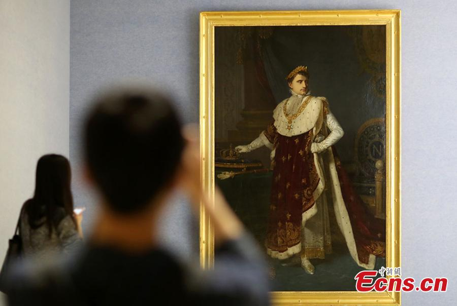 Nanjing Museum gives a glimpse into Napoleon's life