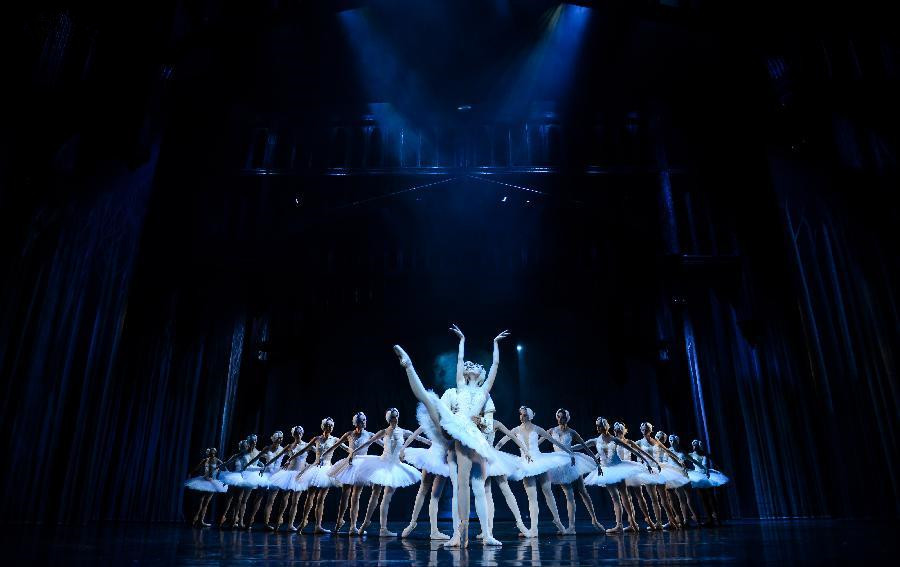 Chinese, S African ballets perform 'Swan Lake' in Johannesburg