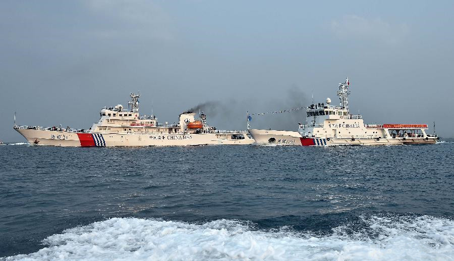 China's patrol vessels set out for patrol mission in South China Sea