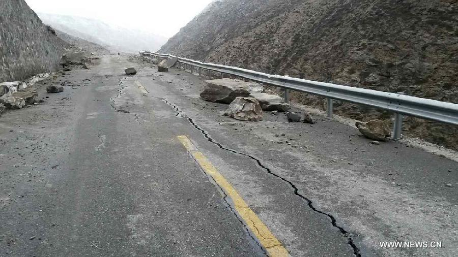 5.3-magnitude quake hits Tibet after Nepal earthquakes
