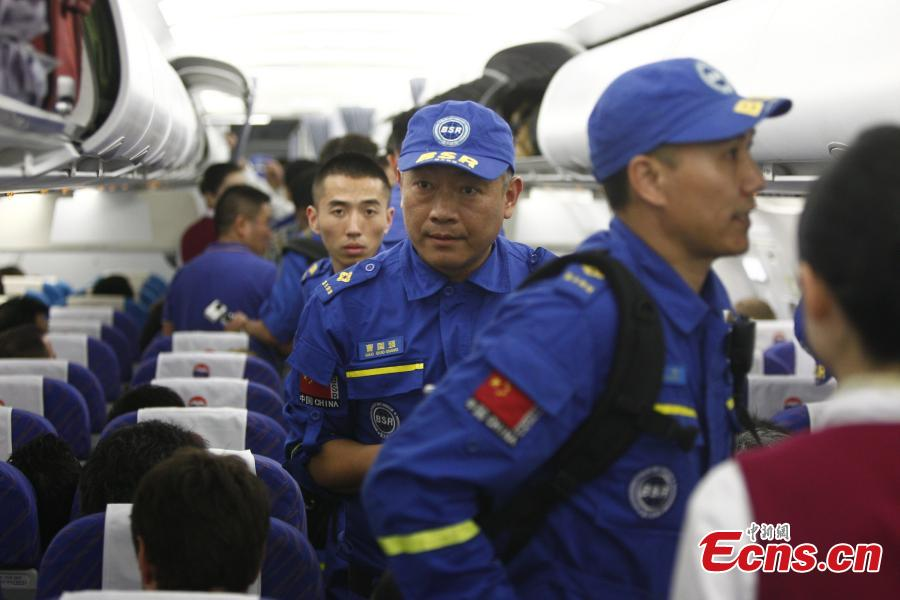 Blue Sky rescuers fly to Nepal for assistance