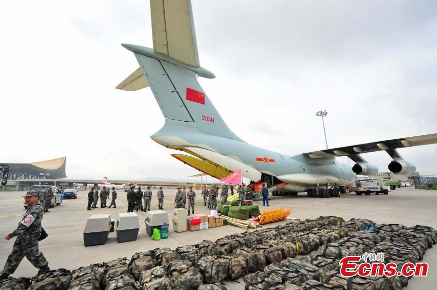 China sends four Il-76 aircraft for Nepal rescue