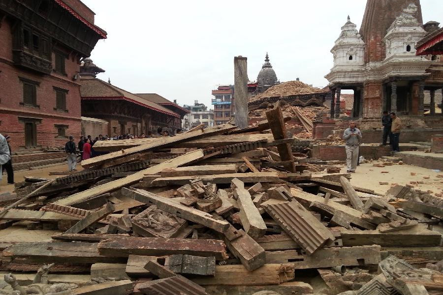History razed in Nepal earthquake