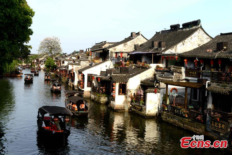Ancient town ready welcome May Day holiday tourists