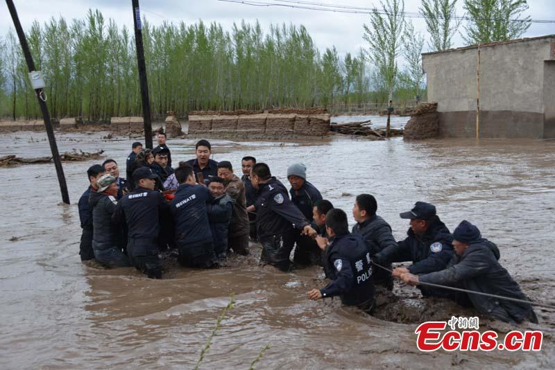 No casualties reported in Xinjiang flood