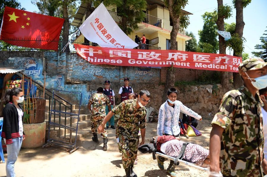 Chinese Government Medical Teams work in Nepal