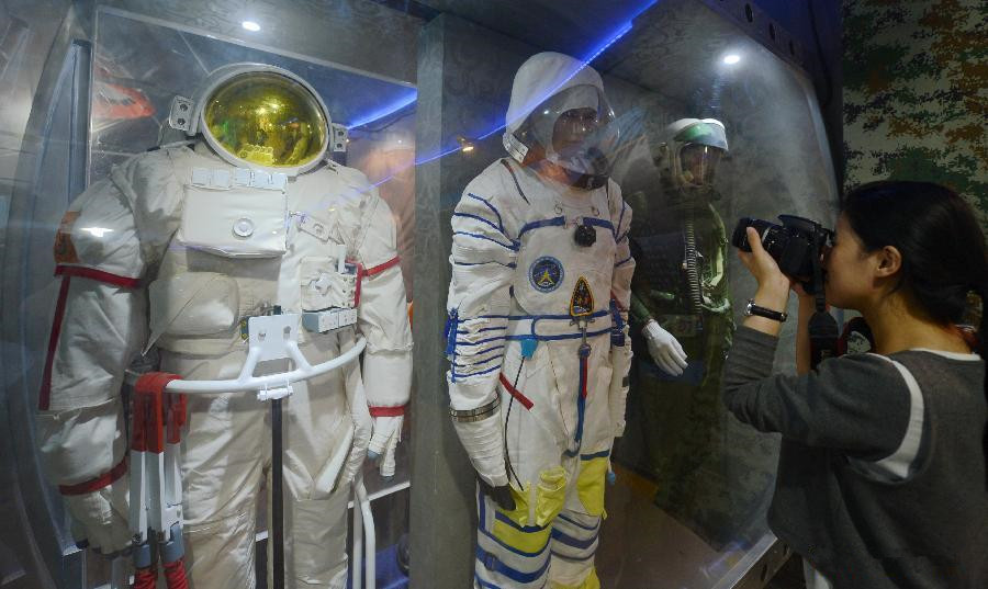 Chinese space enthusiast builds folk aerospace exhibition hall