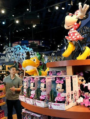 Disney flagship store opens in Shanghai