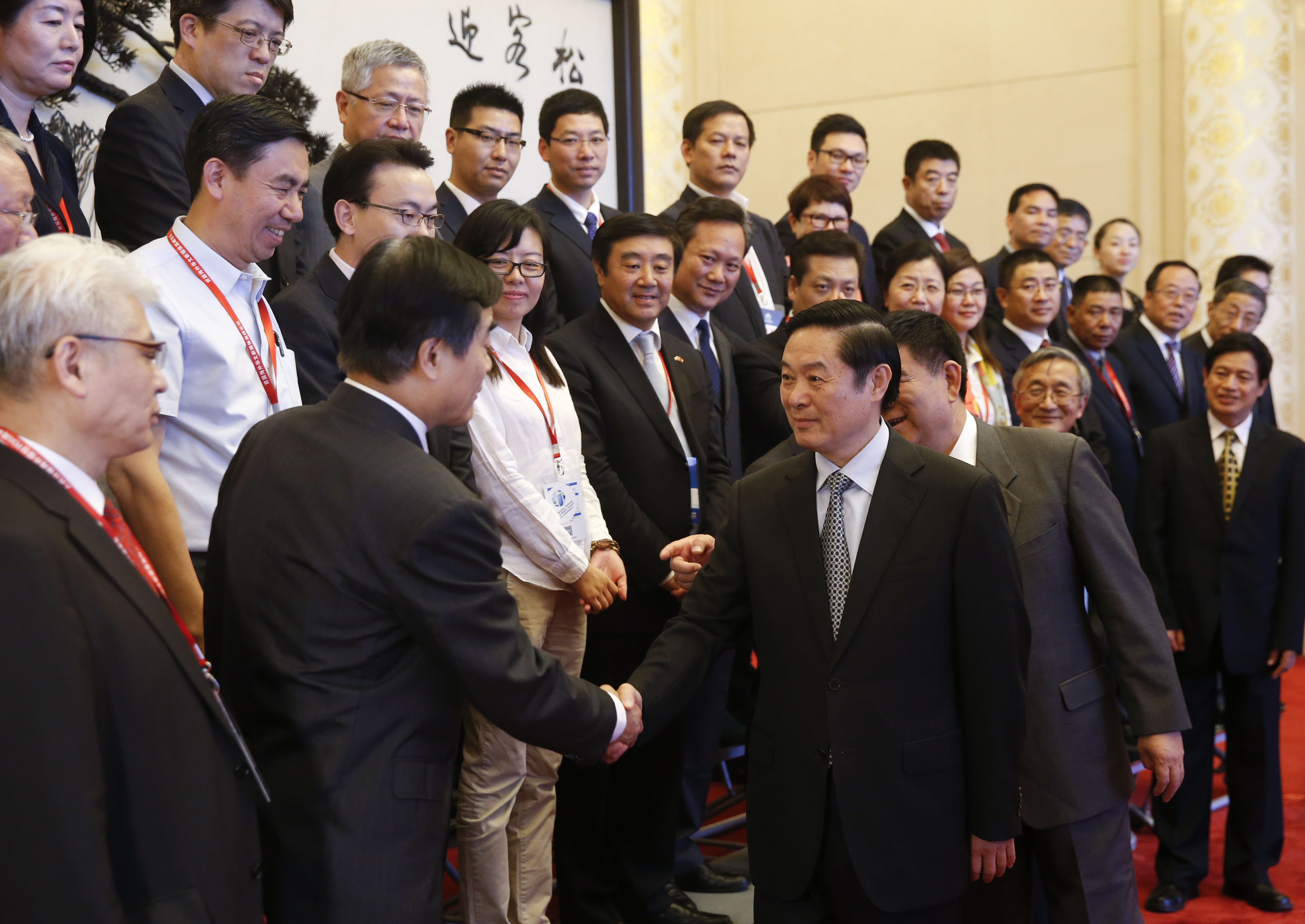 CPC publicity chief meets overseas Chinese media representatives
