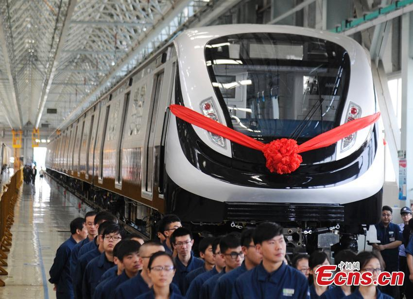 China delivers all 2016 Olympics subway trains
