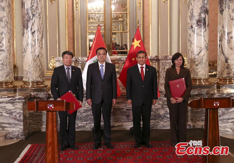 China, Peru to Advance Co-op in Industrial Capacity, Equipment Manufacturing