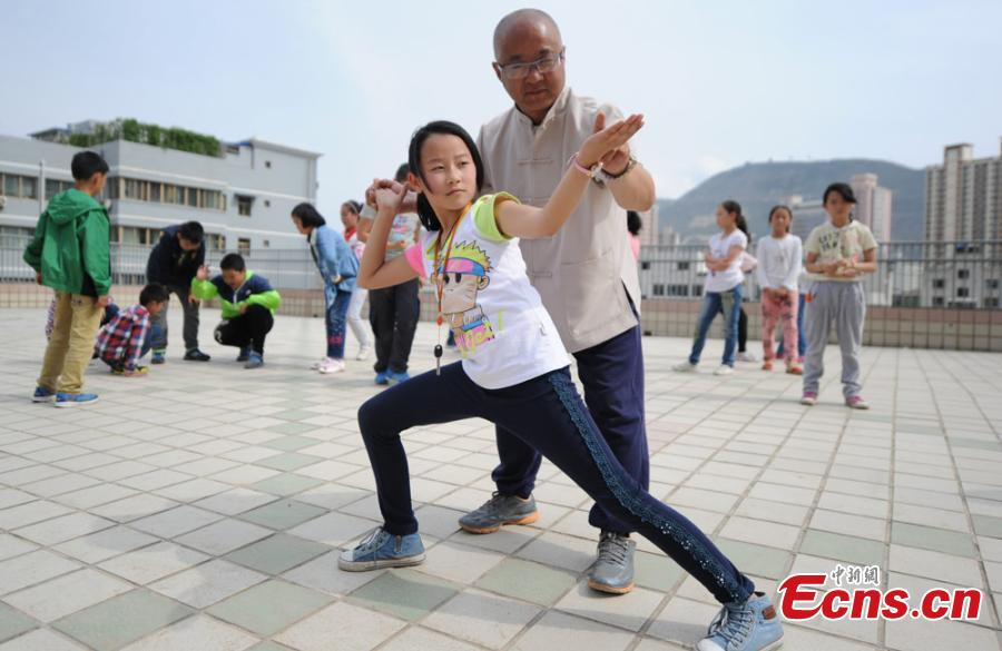 Elementary school adds kung fu to curriculum